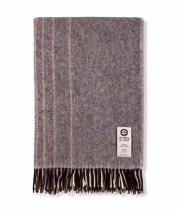 kaja design large alpaca mix wool throw blanket