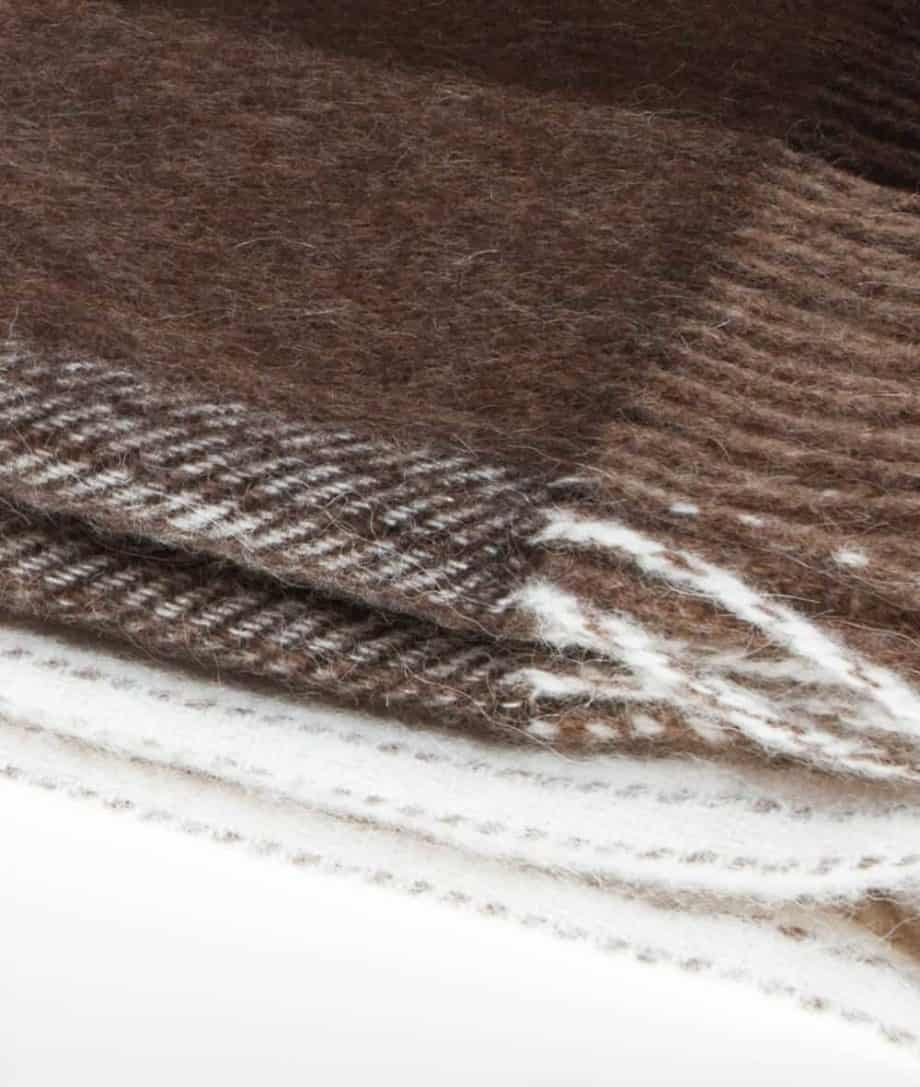 so cosy brown colour throw blanket
