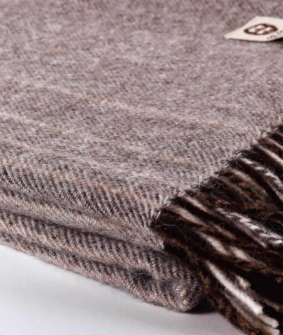 so cosy large alpaca wool and lambswool blend blanket