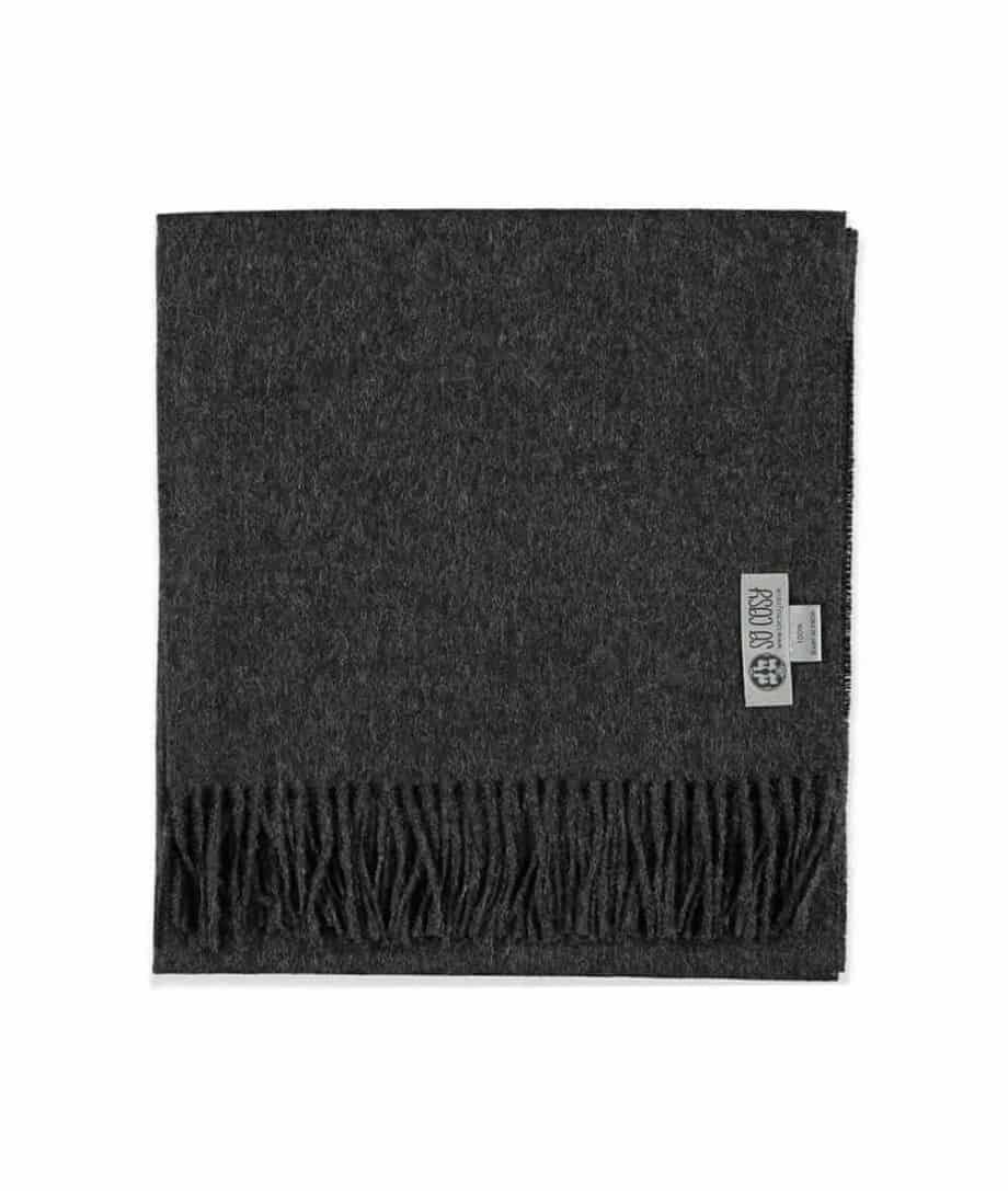 baby alpaca wool charcoal colour shawl