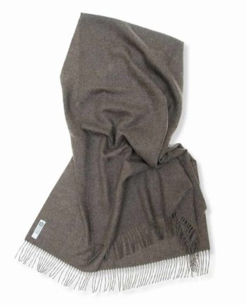 soft so cosy lilly shawl mocha colour