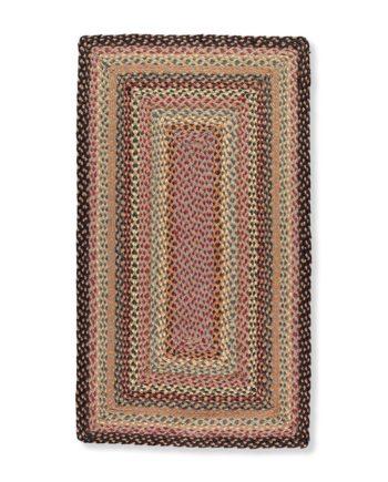 Misty Blue rectangle rug