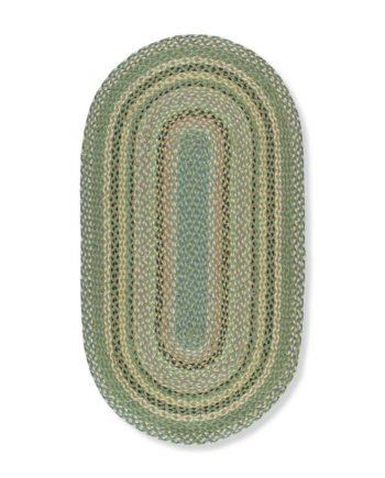 Mint oval rug