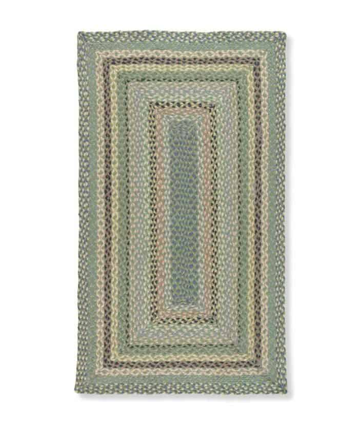 Mint rectangle rug