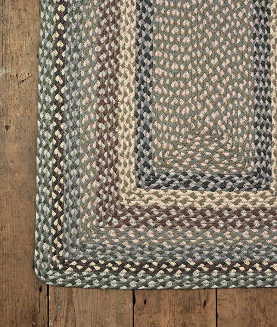 tundra colour jute rug rectangular