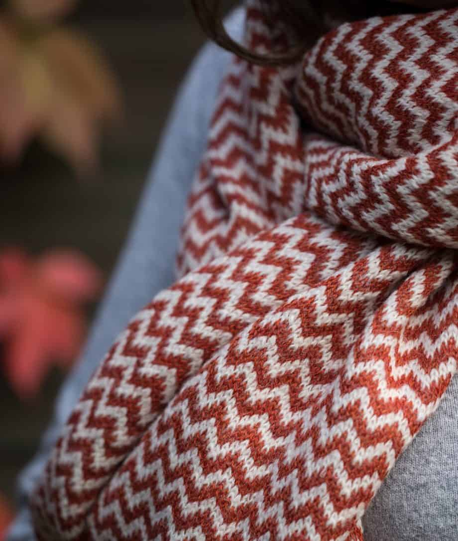 so cosy knitted scarves