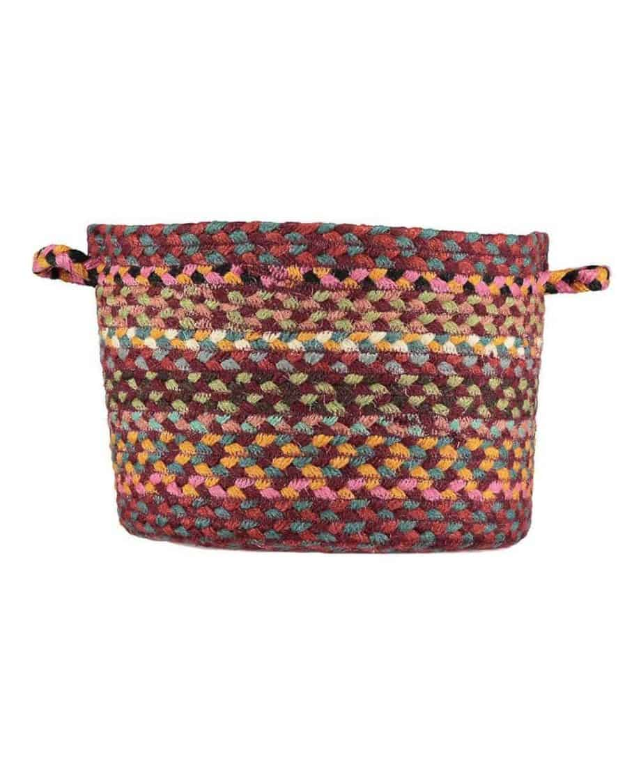 organic jute utility basket in shiraz colour