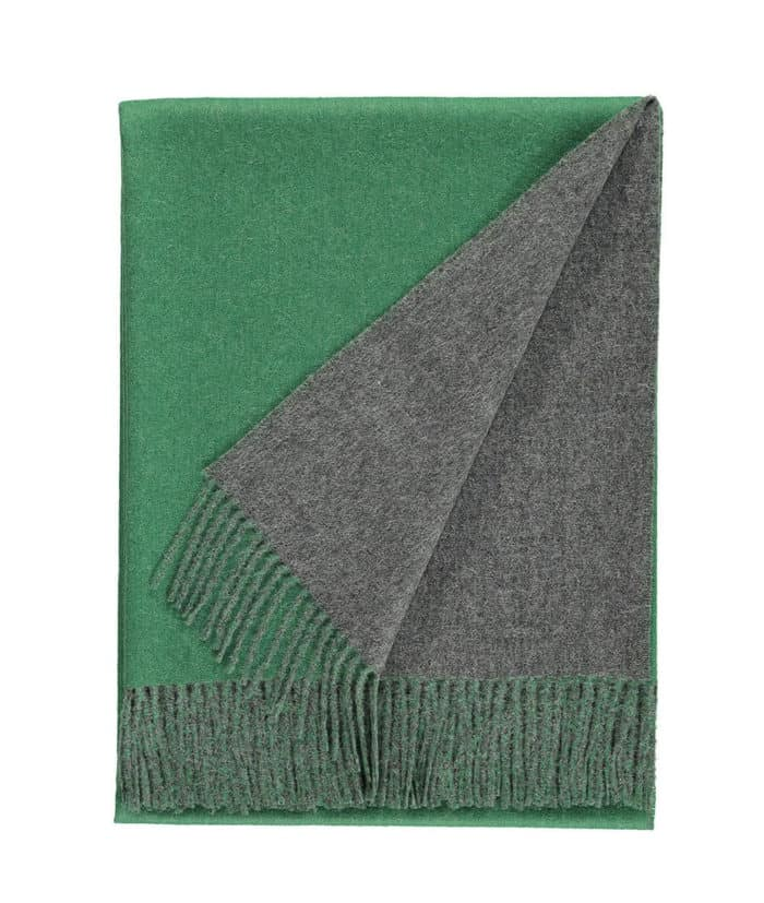 Emery Forest Green Natural Grey