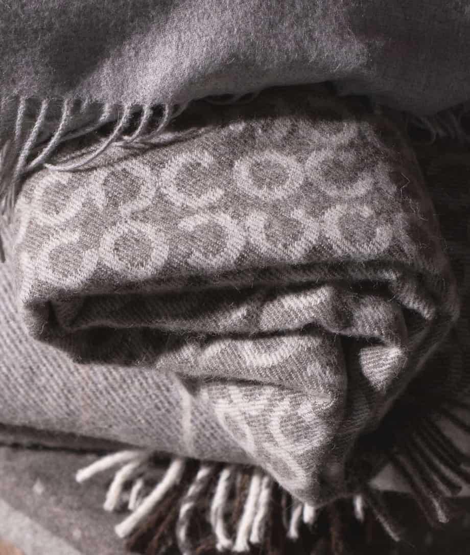 so cosy merino and alpaca wool blanket