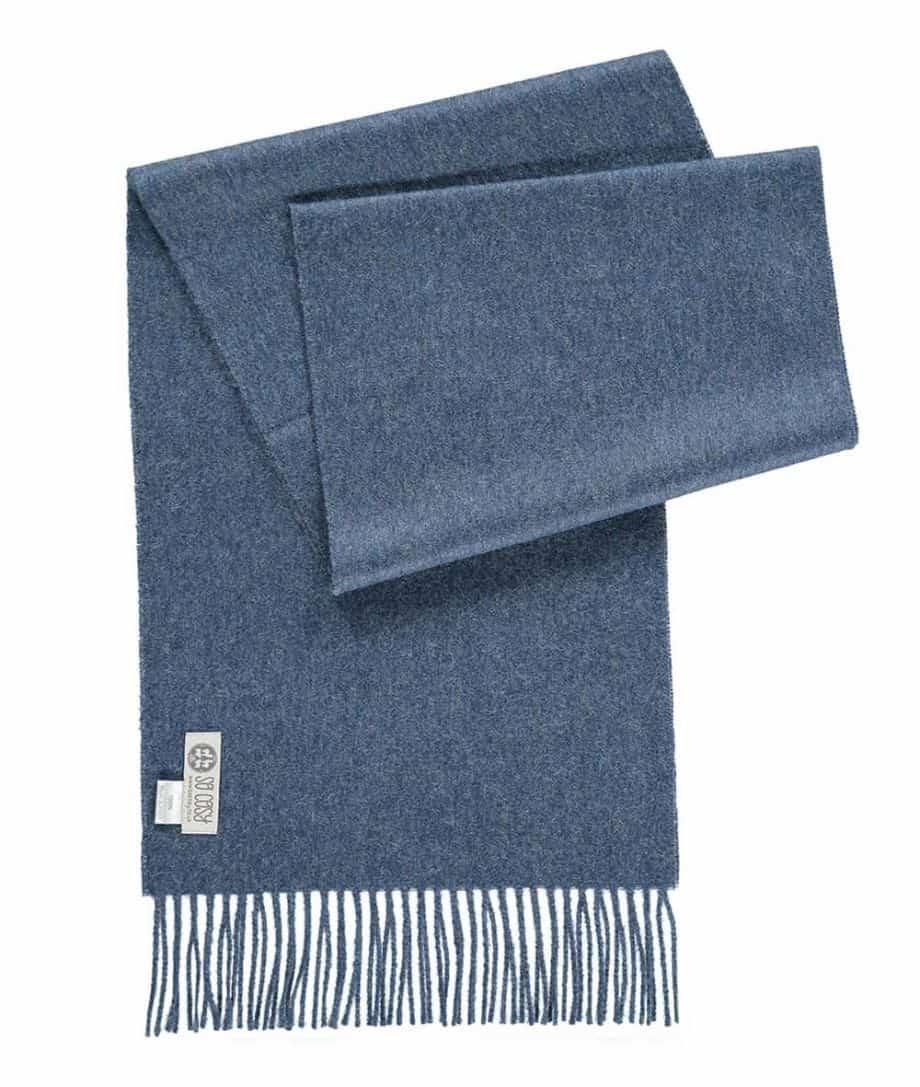 so cosy baby alpaca wool scarves collection denim colour