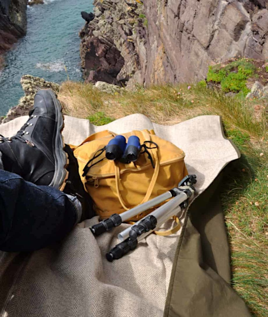outdoor walking hiking picnic blanket lifestyle image bag pack