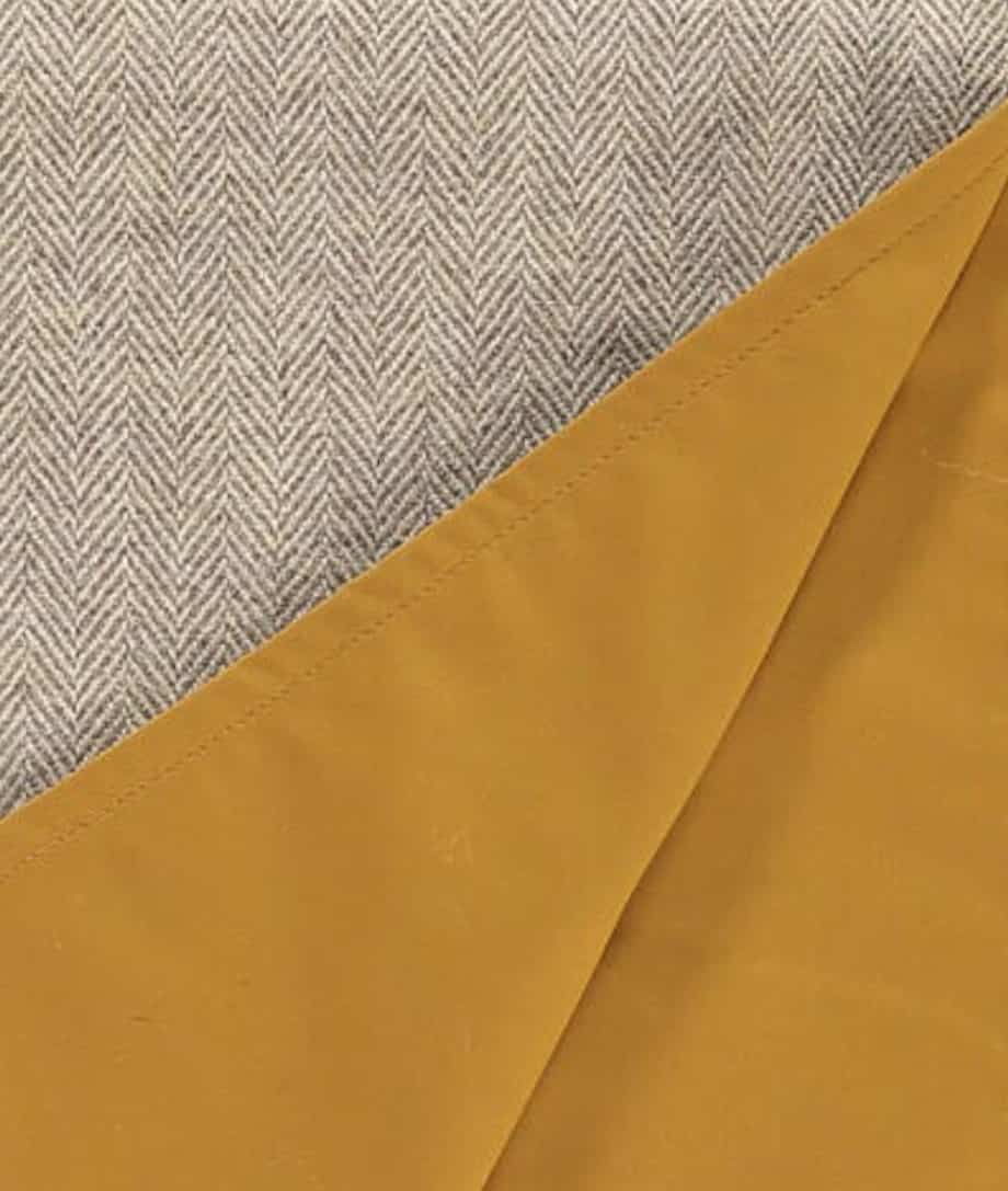picnic-blanklet-roll-up-mustard-colour-wax-cotton-eco-wool-online-so-cosy