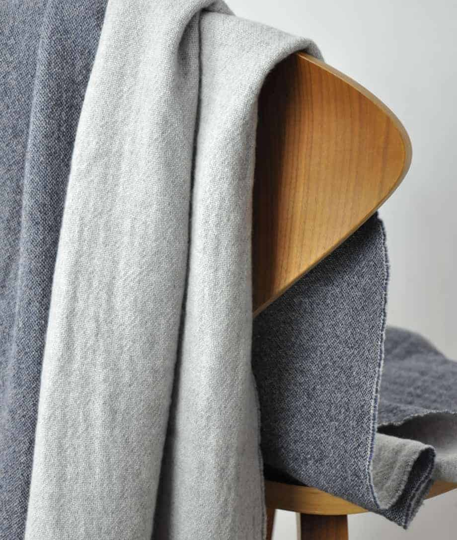 super soft and cosy merino wool blanket