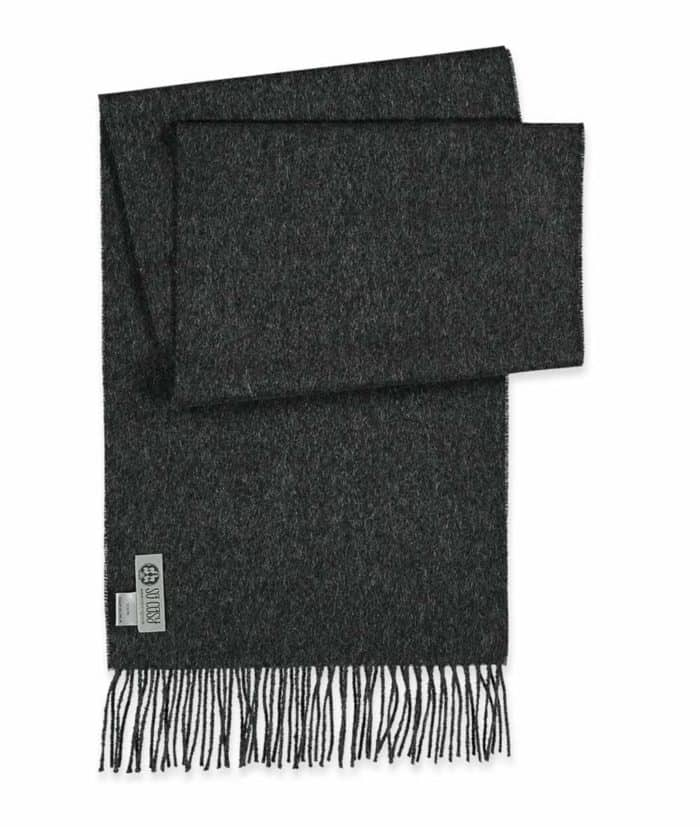 scarf charcoal