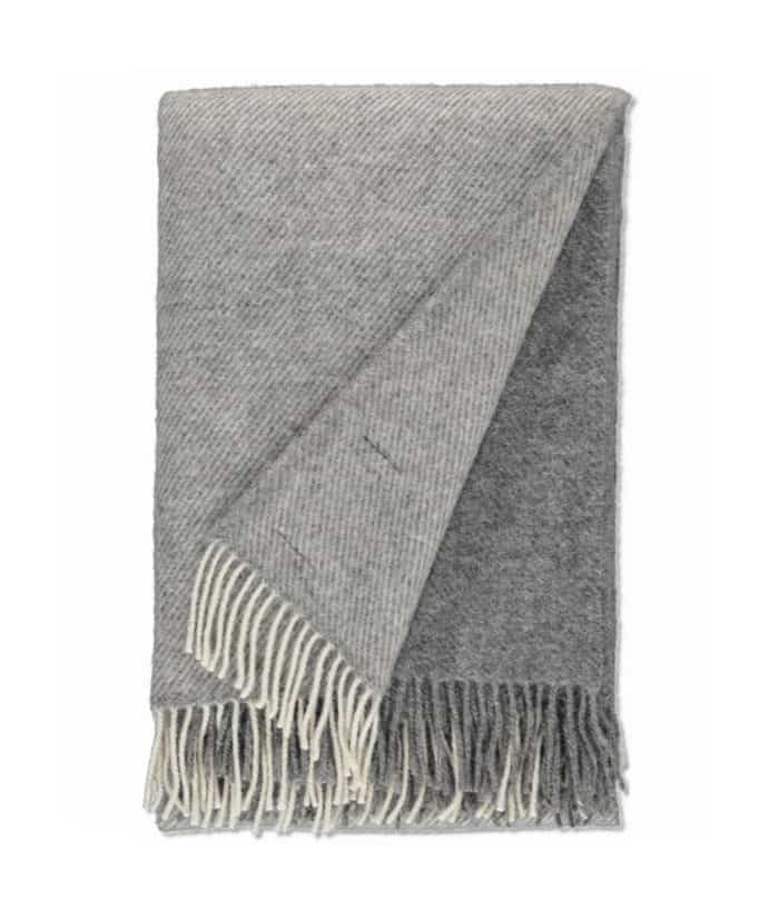 sustainable ethical natural gotland undyed wool large blanket throw