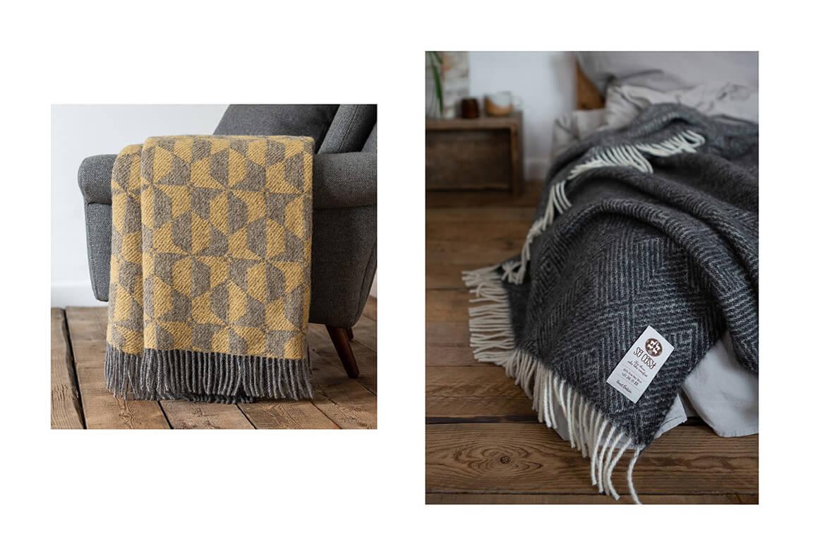 Gotland wool blankets