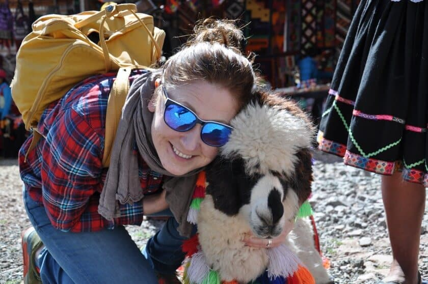 So Cosy went to Peru!