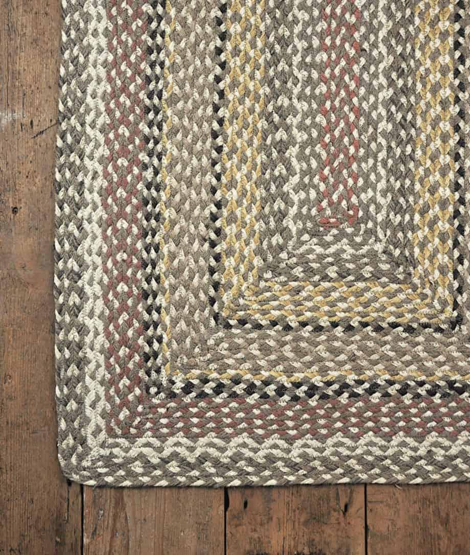 granite eco jute rug rectangular