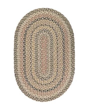 Granite oval rug