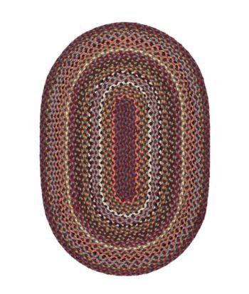 Shiraz oval rug