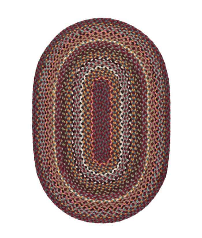 Shiraz oval rug