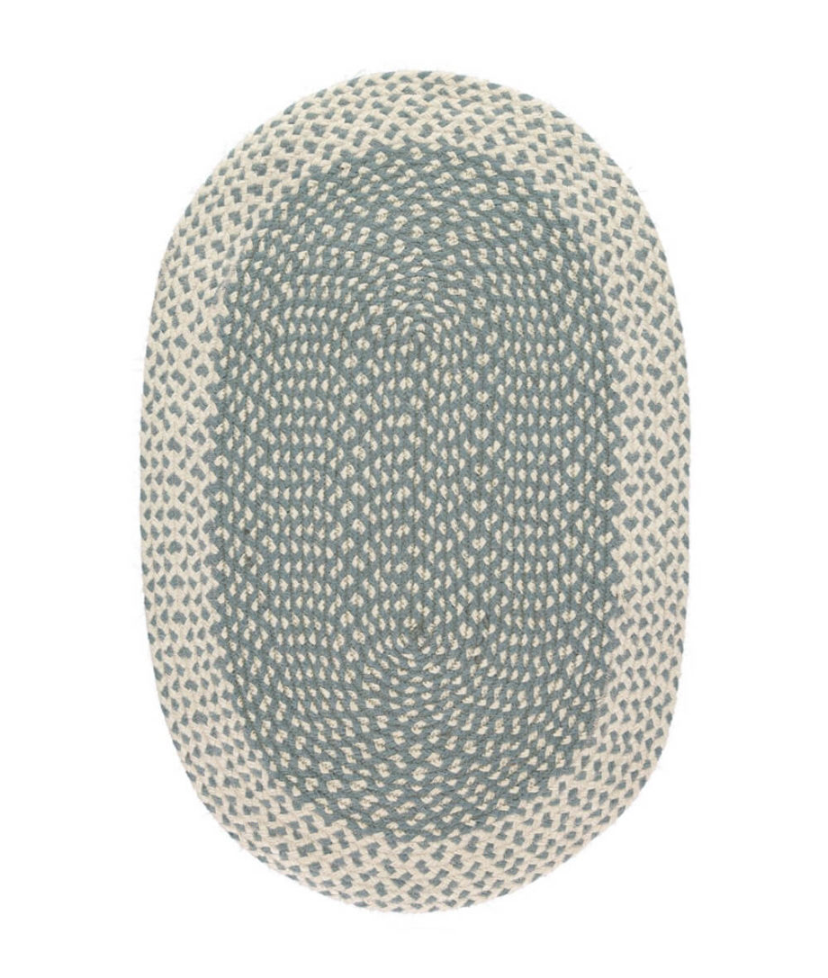 Thistle oval rug