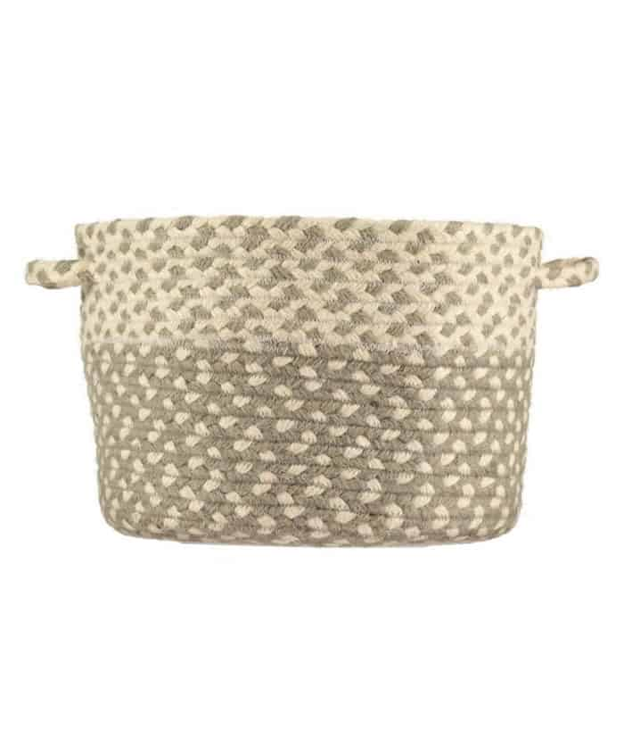 Soft Grey Basket