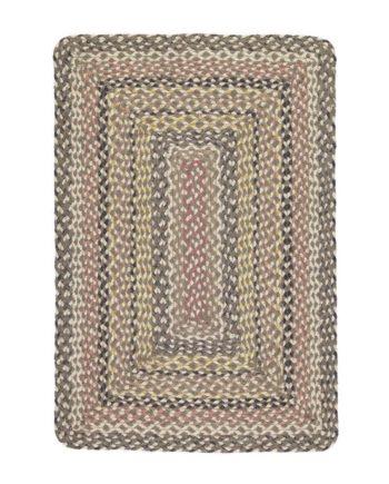 Granite rectangle rug