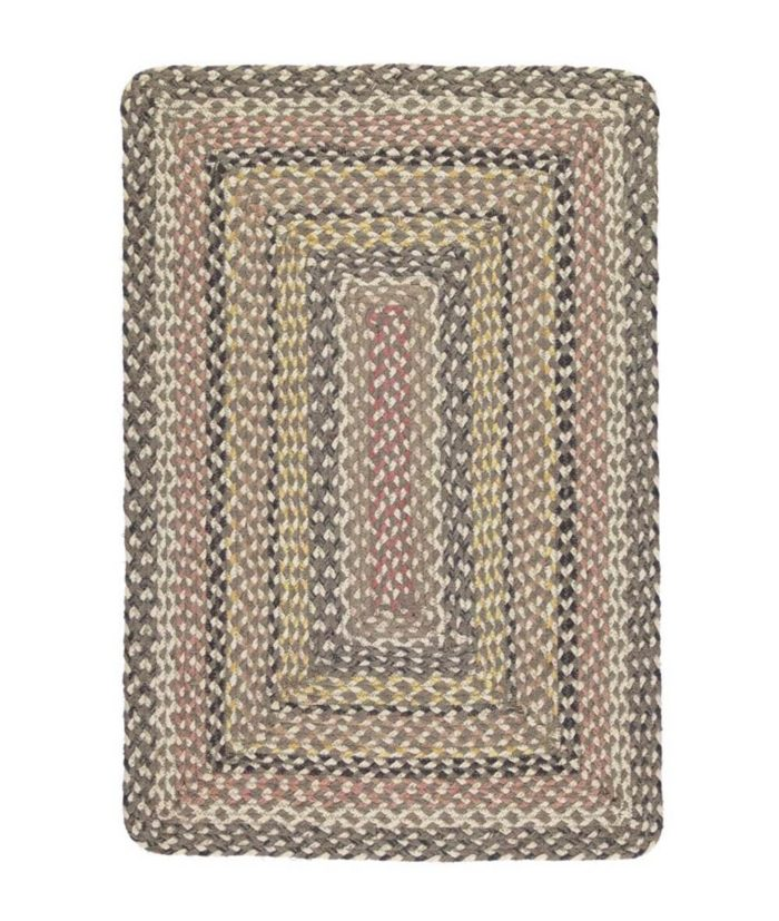 Granite rectangle rug