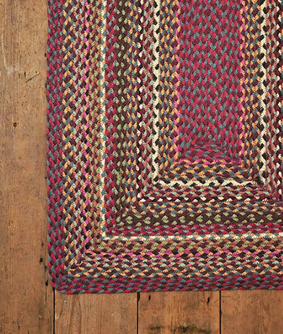 shiraz organic jute rug in rectangular shape