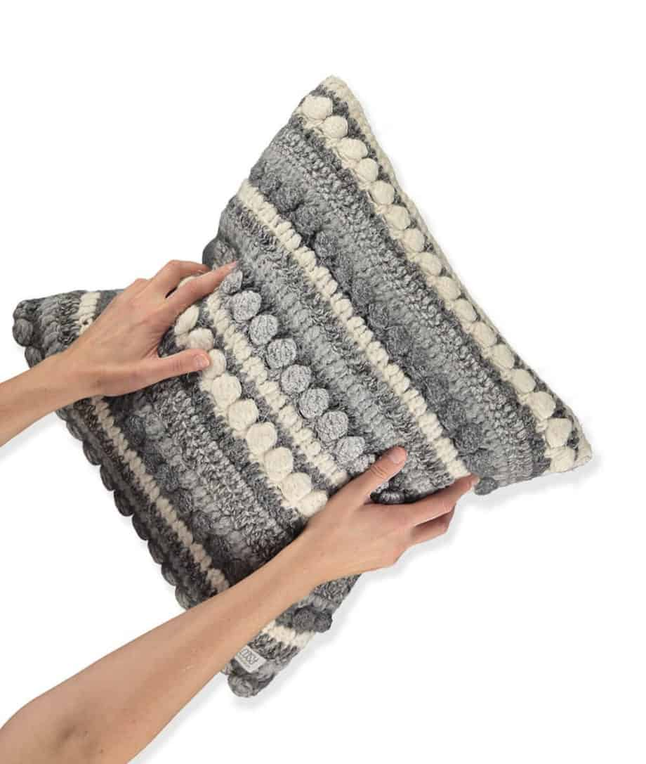 Lima Hand Crochet Cushion
