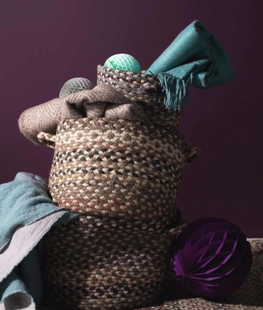 granit utility organic jute basket