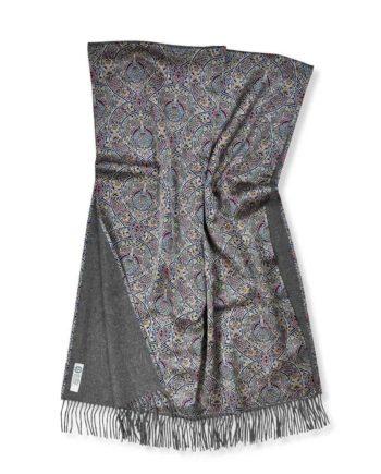liberty fabric so cosy large shawl