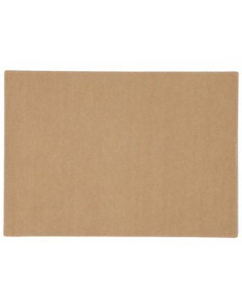 rectangular placemat in camel colour