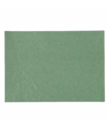 rectangular placemat in salvia green colour