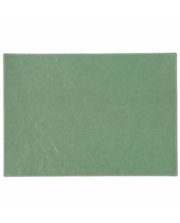 rectangular placemat in salvia green colour