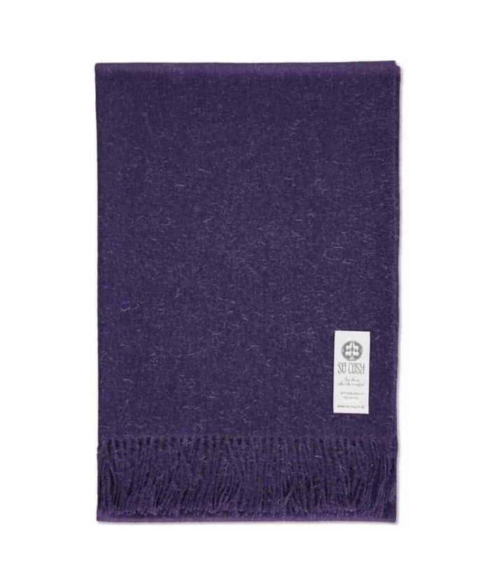 super soft peruvian baby alpaca wool throw or wrap