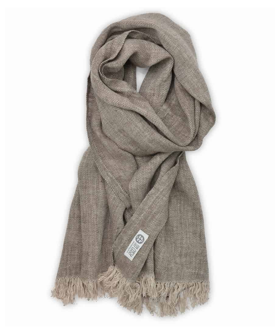 all seasons natural linen scarves