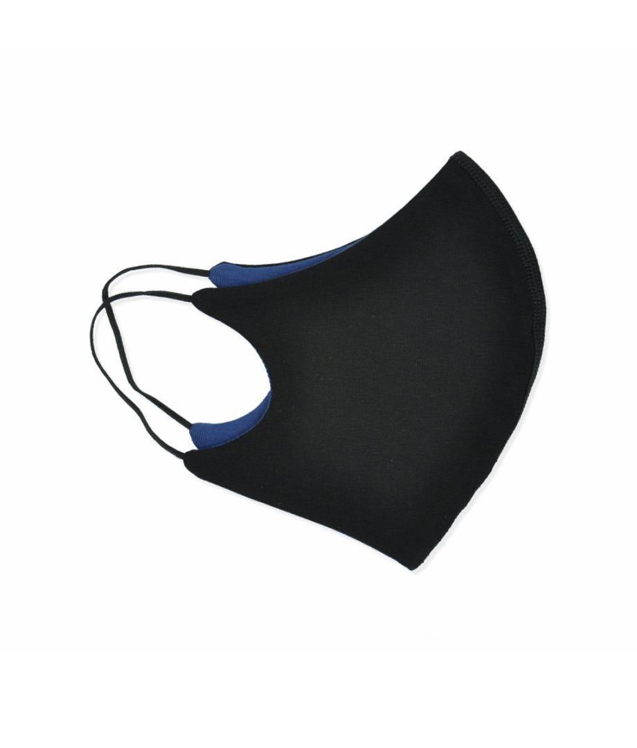 cosy-comfort black navy face mask