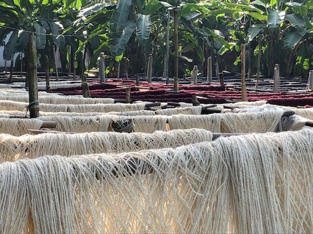 organic jute fibre