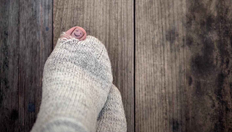 Tips on sock repair