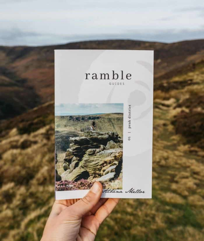 peak district guide book with best walks and picnic spots