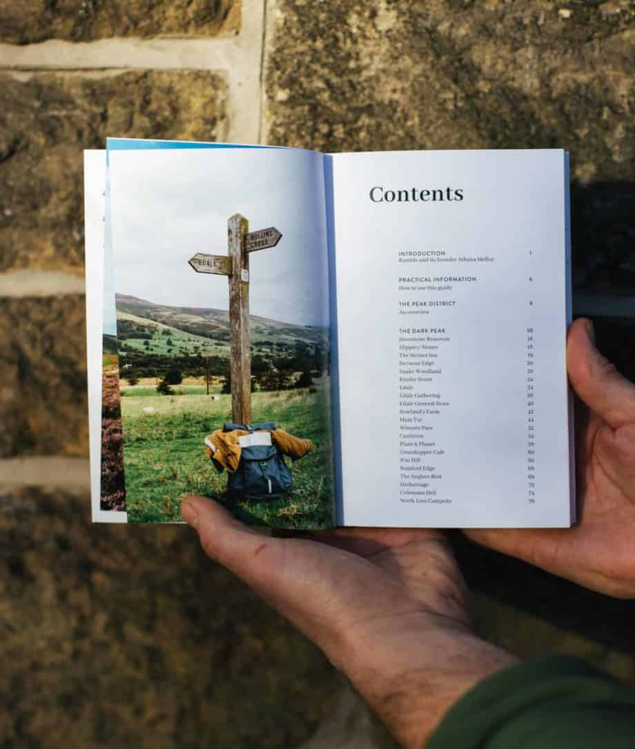 Inside the Peak District Guide Book