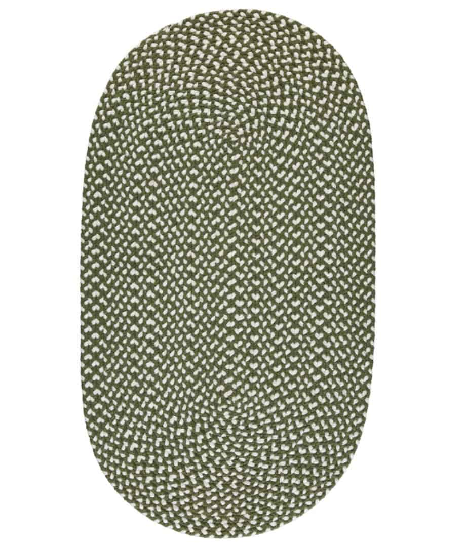 Olive eco recycled rug