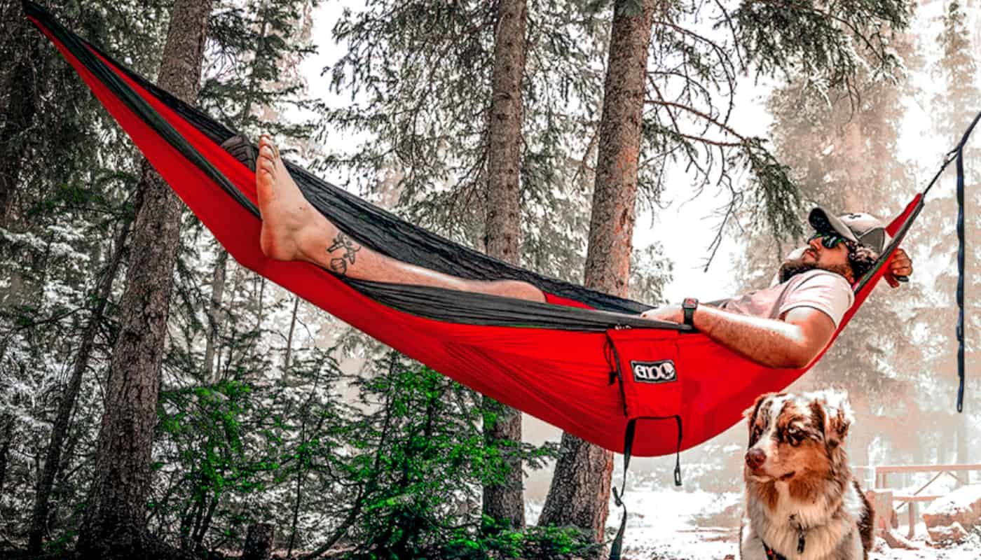 red hammock compact so cosy products online
