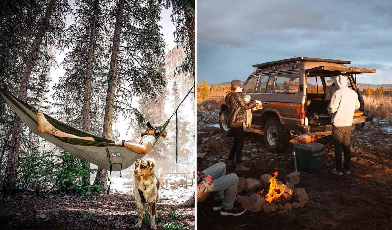 Adventuring outdoors