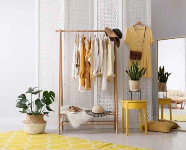 organise summer wardrobe