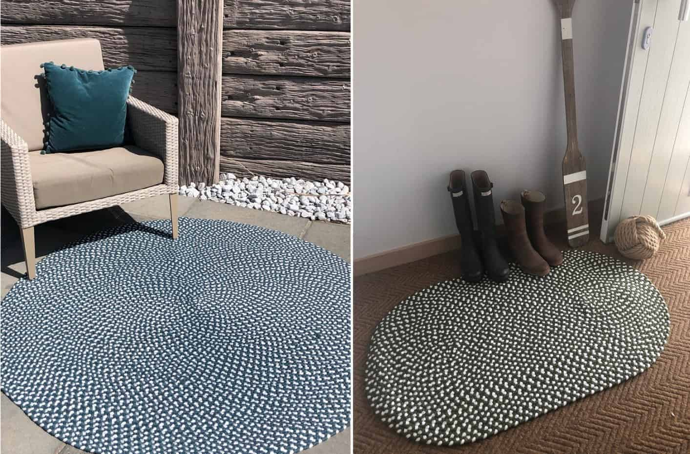 Durable eco rugs