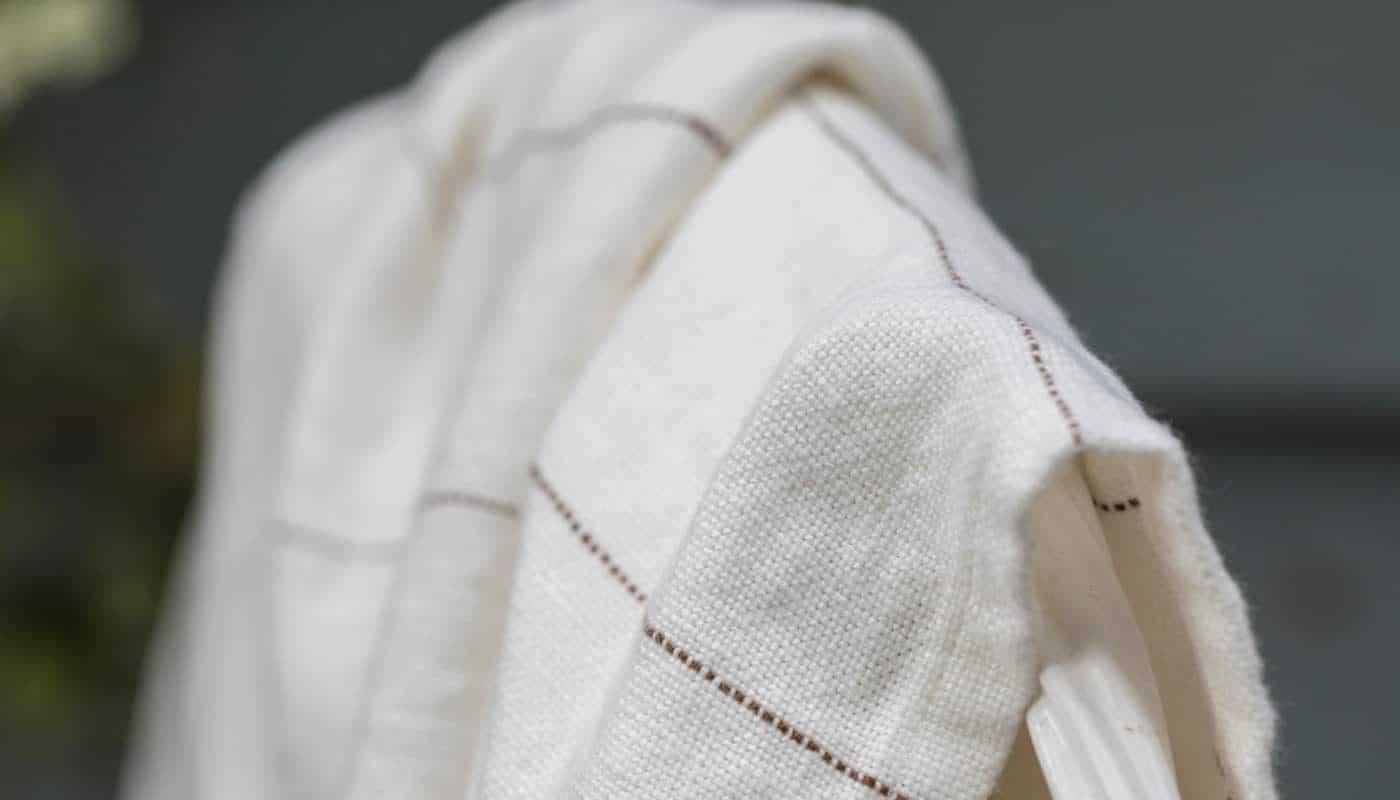 linen cozy bedspread throw off white