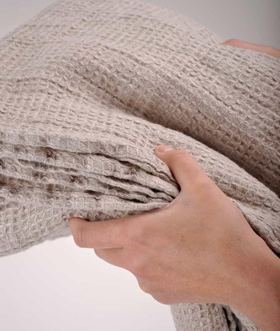 natural linen bed sofa throw uk